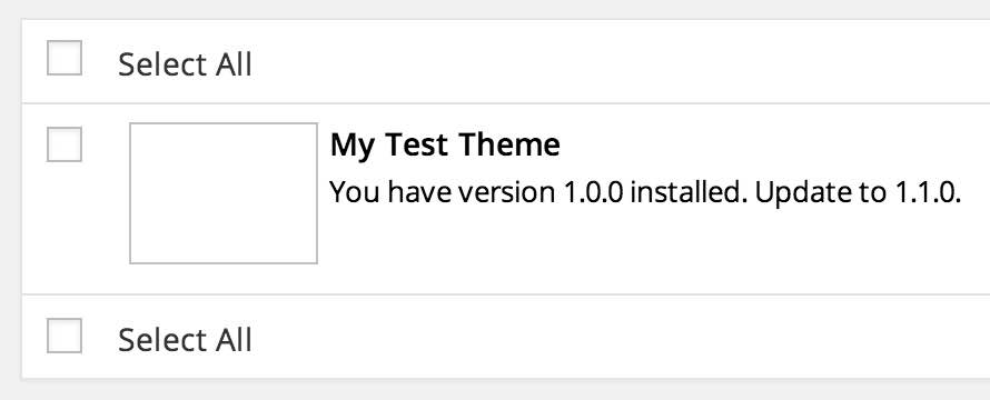 """My Test Theme"" has an update"